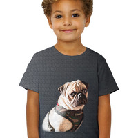 Kids Ready For Trouble Pug