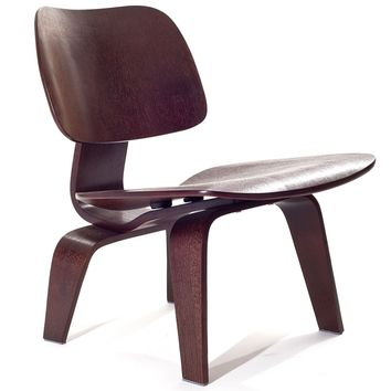 Wenge Molded Plywood Lounge Chair