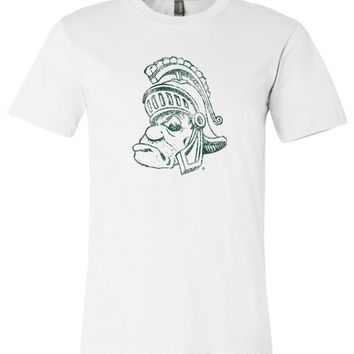 Official NCAA Michigan State University Spartans MSU Sparty Unisex T-Shirt - 04MS-1-b