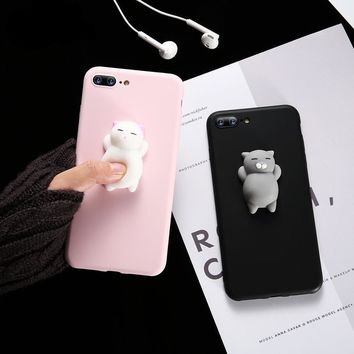 Squishy Phone Case -  Cute Cats iPhone Cases