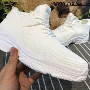 DCCK B001 Balenciaga Flyknit Breathable Casual Running Shoes White
