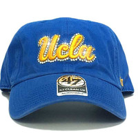 UCLA Bruins '47 Brand Adjustable Cap + Custom Swarovski Crystals