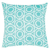 Ecom Outdoor Decorative Pillow Jaipur Blue
