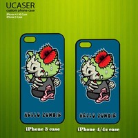 Cute Hello Kitty Zombie - Photo On Hard Cover Case For iPhone 5