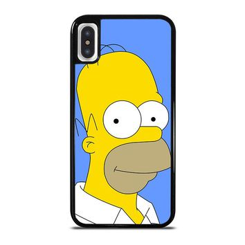 HOMER SIMPSONS iPhone X Case Cover