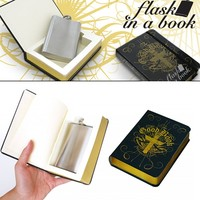 The Good Book - Hip Flask