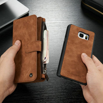 Leather Wallet Kickstand Case