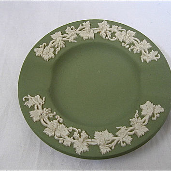 Vintage Green Wedgwood Ashtray