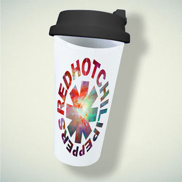 Red Hot Chili Peppers RHCP Galaxy For Double Wall Plastic Mug ***
