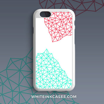 Handmade Triangle iPhone Case