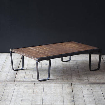 Vintage industrial pallet coffee table