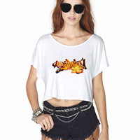 Cincinnati Bengals 2 868 Crop Shirt , Custom Crop Shirt , Woman Crop Shirt