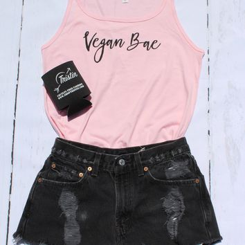 Tristin Original Vegan Bae Tank Top