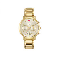 kate spade new york Gramercy Grand Chronograph Watch - Gold
