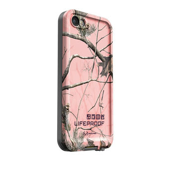 The Pink & Realtree Xtra LifeProof Limited-Edition Realtree iPhone Case for the iPhone 5/5s