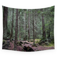 Society6 Deep In The Forest Wall Tapestry