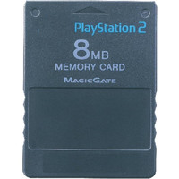 8MB PS2 Memory Card - Playstation 2 (Game Only)