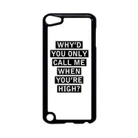 Personalised AM song lyrics iPod Touch 5 Case