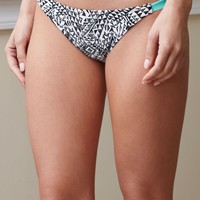 Billabong Safari Biarritz Bikini Bottom - Womens Swimwear - Black