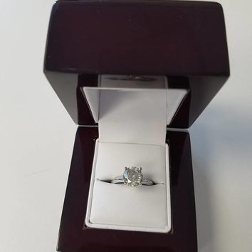 2.06 Carat G I2 Diamond Engagement Ring 14K 4 Prong Bridal Certified Jewelry 7.90 mm  Hot Sale! Great Size ! July 4th Special!!