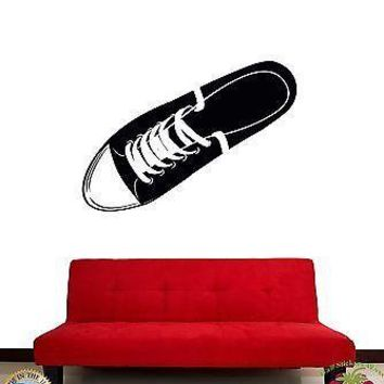 Wall Stickers Vinyl Decal Keds Youth Sports Shoes Unique Gift z1056