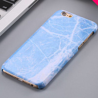 Vinatge Blue Marble Stone iPhone 5se 5s 6 6s Plus Case Cover + Nice Gift Box 267