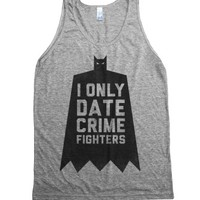 Athletic Grey Tank | Funny Dating Superhero Shirts