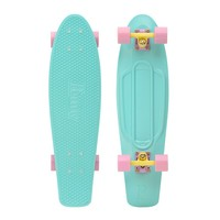 "Penny Skateboards USA Penny Nickel Pastel Mint 27"" Original Plastic Skateboard"