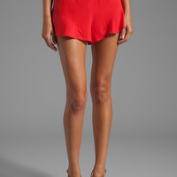 harlyn High Waist Tap Short in Poppy from REVOLVEclothing.com