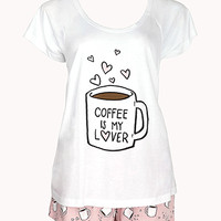 Coffee Lover PJ Set
