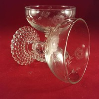 Anchor Hocking Bubble Foot 1950's Coupes/Sherbet Glasses