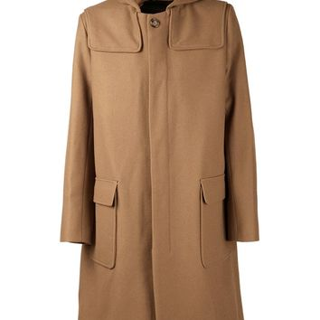 Ami Alexandre Mattiussi hooded coat