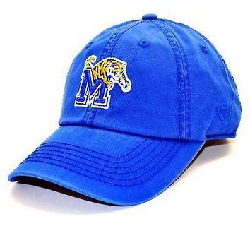 Licensed Memphis Tigers Adult Adjustable Cotton Crew Hat Cap Memphis TOW 313672 KO_19_1