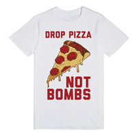 Drop Pizza Not bombs