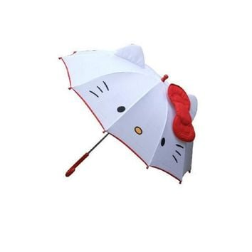 Cute Hello Kitty Umbrella