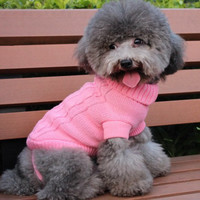 Pet Sweater Winter Clothes Clothing Sweater Cat and Dog Clothes