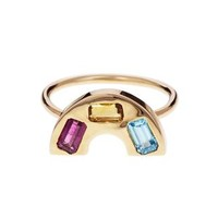 Multi Gem Rainbow Ring