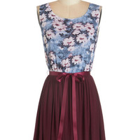 ModCloth Sleeveless A-line Pondside Pretty Dress