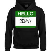 Hello My Name Is BENNY v1-Hoodie