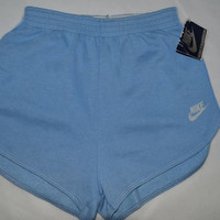 NIKE Vintage Running Jogging Athletic SHORTS Sz-M 1980's New! Old Stock!