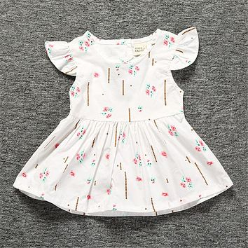Baby Girl Dress Fashion Newborn Baby Clothes Infant Children Dresses Kids Clothes
