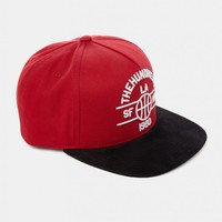 The Hundreds Streak Snapback - Red - Caps & Hats - Accessories | Shop for Men's clothing | The Idle Man
