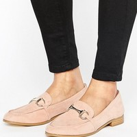 Faith Agnes Blush Flat Shoes at asos.com