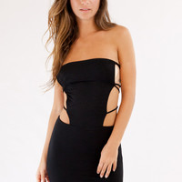 2015 Indah Swimwear Akina Mini Dress in Black