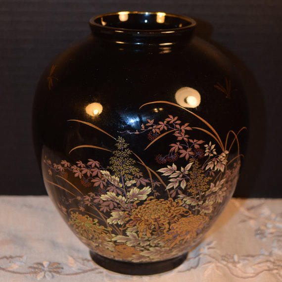 Shop Vintage Japanese Vases On Wanelo