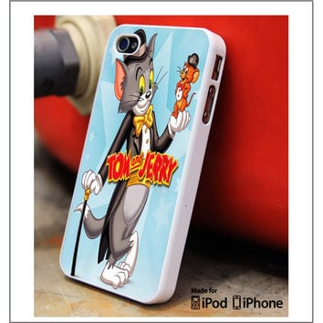 Tom And Jerry Cartoons iPhone 4s iPhone 5 iPhone 5s iPhone 6 case, Galaxy S3 Galaxy S4 Galaxy S5 Note 3 Note 4 case, iPod 4 5 Case