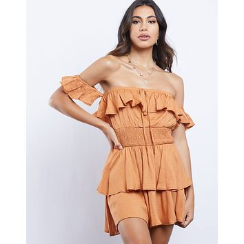 Sweet Sunday Ruffle Dress