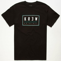 Kr3w Locker Star 2 Mens T-Shirt Black  In Sizes