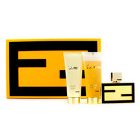 Fan di Fendi Extreme Coffret: Eau De Parfum Spray 50ml/1.7oz + Bath & Shower Gel 75ml/2.5oz + Body Lotion 75ml/2.5oz 3pcs