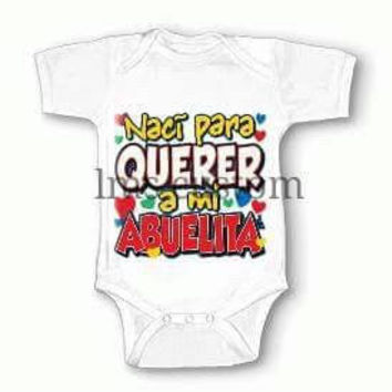 Custom Onesuit/newborn cloth/newborn gifts/mommy gift/daddy gift /mommy Onesuit/baby clothing/funny Onesuit grandma